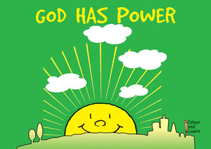 God Has Power (Colour and Learn)