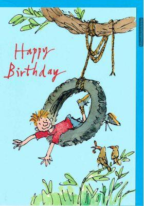 Card Tyre Swing (Quentin Blake)