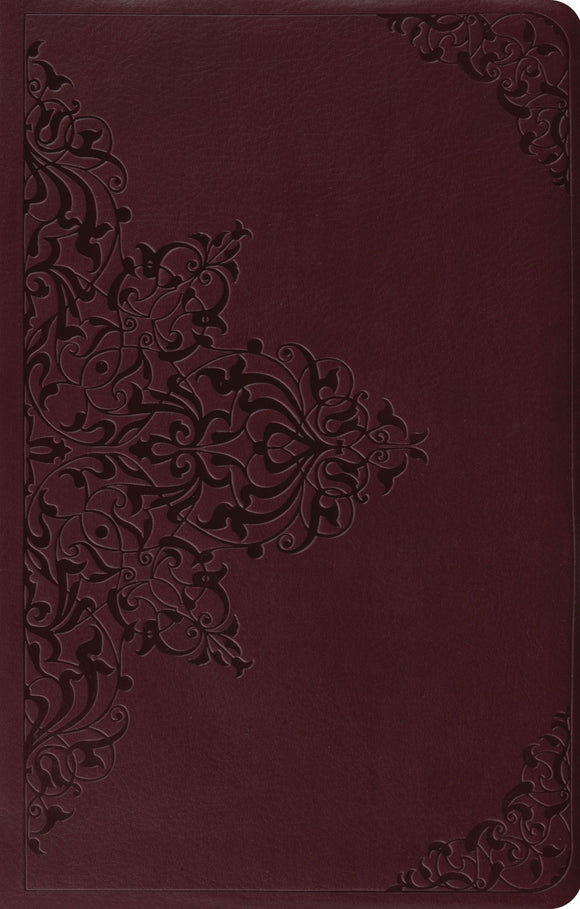 ESV Premium Gift Bible (Chestnut Filigree Design)