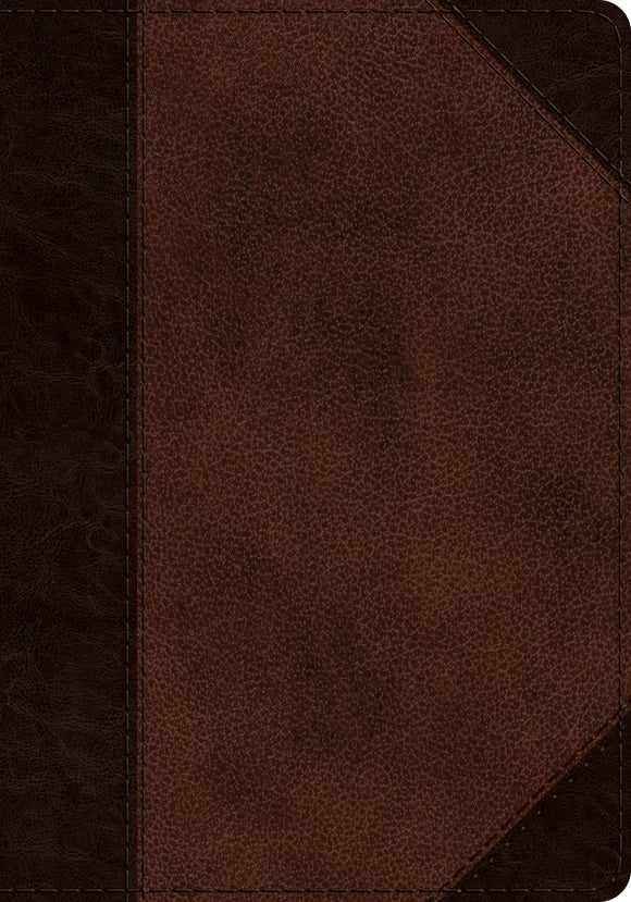 ESV Journaling Psalter: Trutone Brown/walnut, Portfolio Design