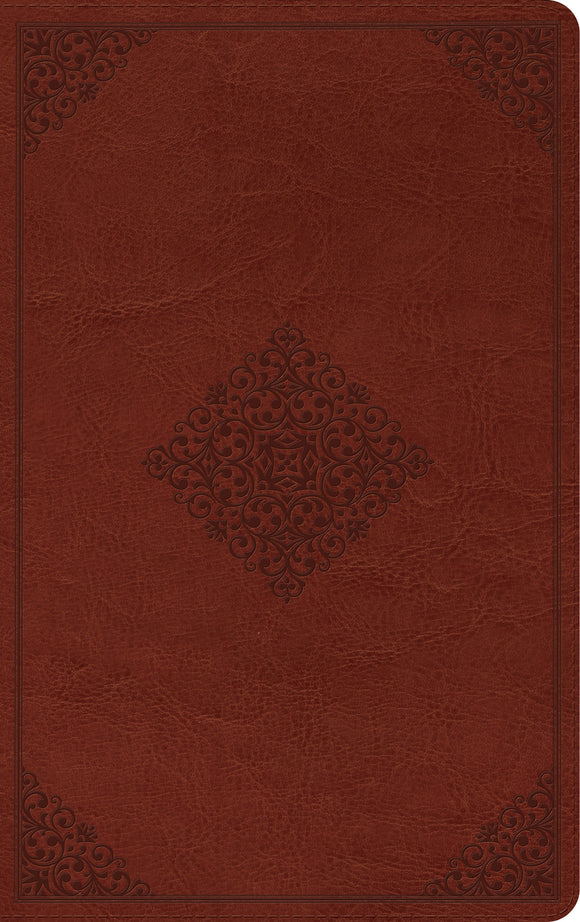 ESV Thinline Reference Bible (TruTone, Tan, Ornament Design)