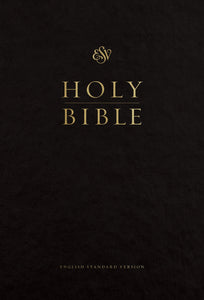 ESV Pew and Worship Bible, Large Print (Black)