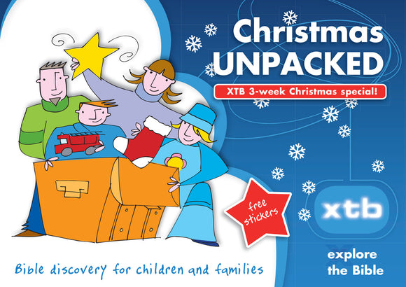 XTB Christmas Unpacked - Bible Discovery for Children and Families