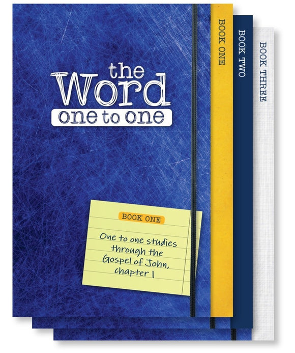 The Word One to One: Pack 1 (John 1-4) (Set of 2)