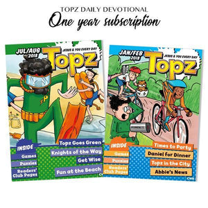 Topz Kids Devotions - One Year Subscription Auto renew