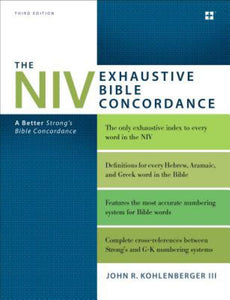 NIV Exhaustive Bible Concordance
