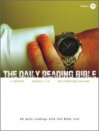 The Daily Reading Bible #10