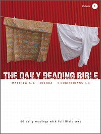 The Daily Reading Bible #1