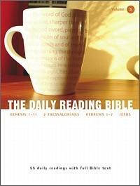 The Daily Reading Bible #3