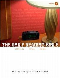 The Daily Reading Bible #8
