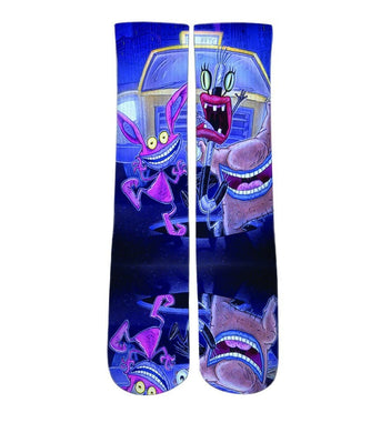 Elite socks-AAAhh Real monsters crew socks