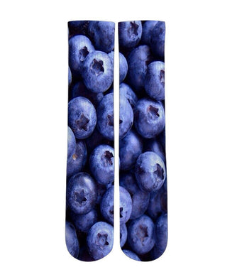 Blue Berry graphic slipper socks - DopeSoxOfficial