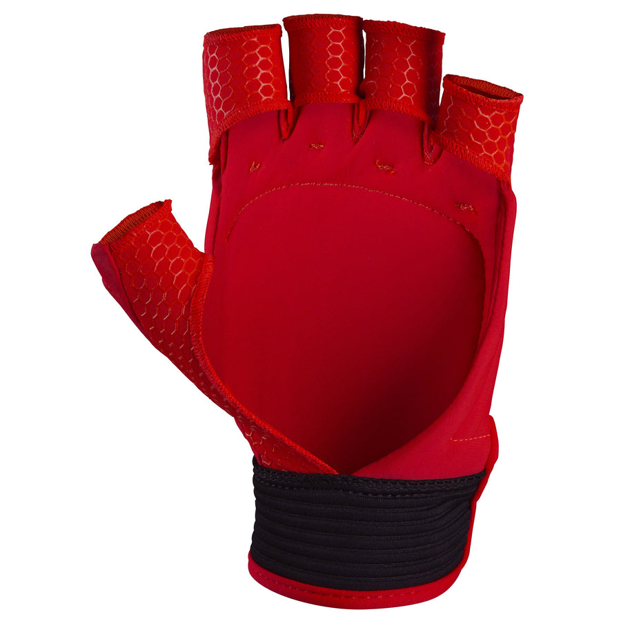 2600 HGFA19 6208905 Glove Touch Fluo Red, Left Hand Palm