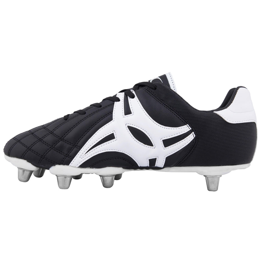 Sidestep VX 10 Lo Rugby Boots - Moulded - Junior - Black