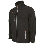 2600 HCAB18 6106609 Jacket Radius Soft Shell Black Silver Mens Main