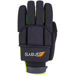 2600 HGBA20 6210605 Glove Proflex 1000 Black & Fluoro Yellow, Back