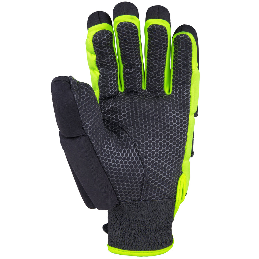 2600 HGBA20 6210605 Glove Proflex 1000 Black & Fluoro Yellow, Palm