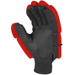 2600 HGBA20 6210805 Glove Proflex 1000 Black & Fluoro Red, Main Palm