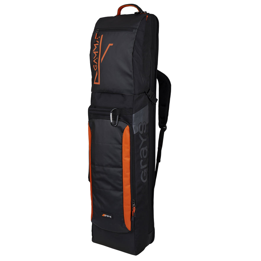 2600 HHAB19 6604800 Kitbag Gamma Black Orange Front