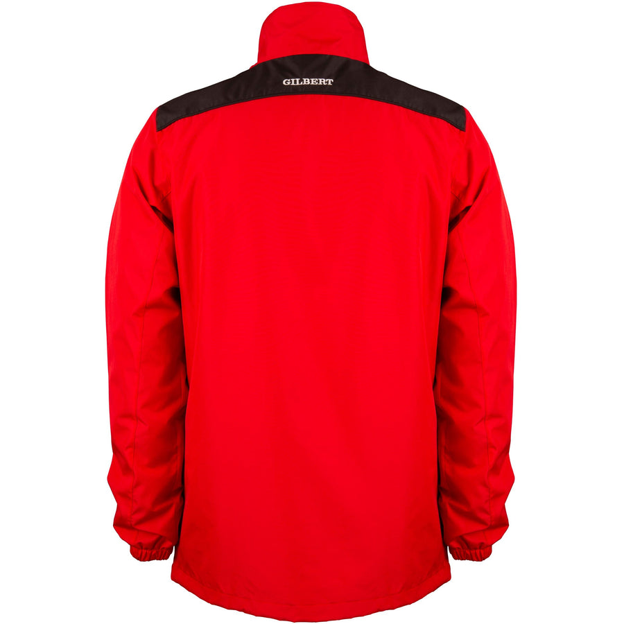 2600 RCBR18 81506705 Jacket Photon Quarter Zip Red & Black, Back