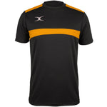 2600 RCFK18 81509905 Tee Photon Black & Gold Front
