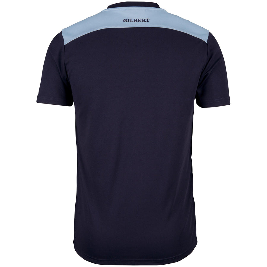 2600 RCFK18 81510205 Tee Photon Dark Navy & Sky, Back