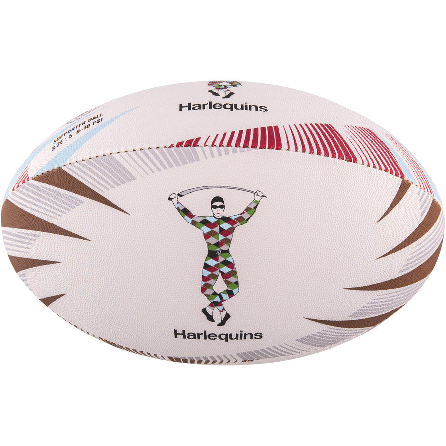 2600 RDCD17 45076105 Ball Supporter Harlequins Size 5 Panel 1
