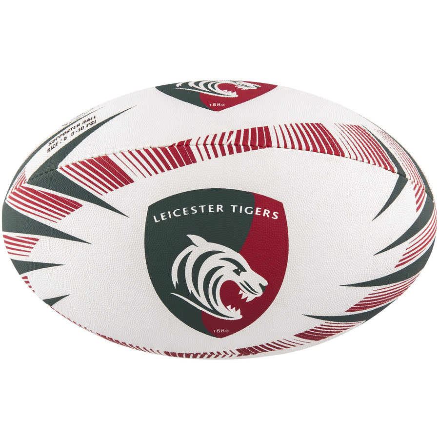 2600 RDCE17 45076205 Ball Supporter Leicester Tigers Size 5 Panel 1