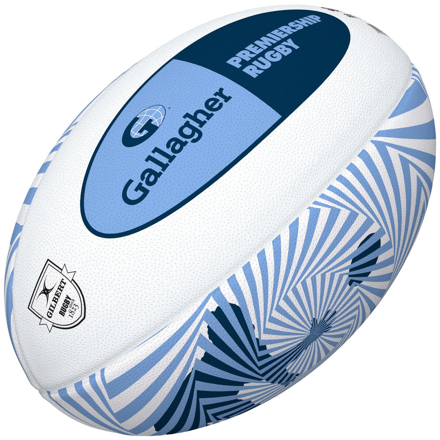 2600 RDFM18 48424505 Ball Supporter Gallagher Premiership Size 5 Angle
