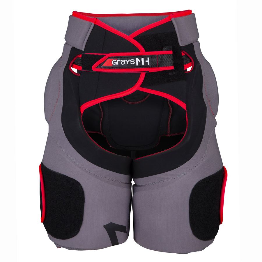 2600 HWAA19 9110006 Goalie MH1 Padded Shorts Front