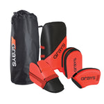 2600 HWEA19 923805 G100 Goalie Set (Red Black)