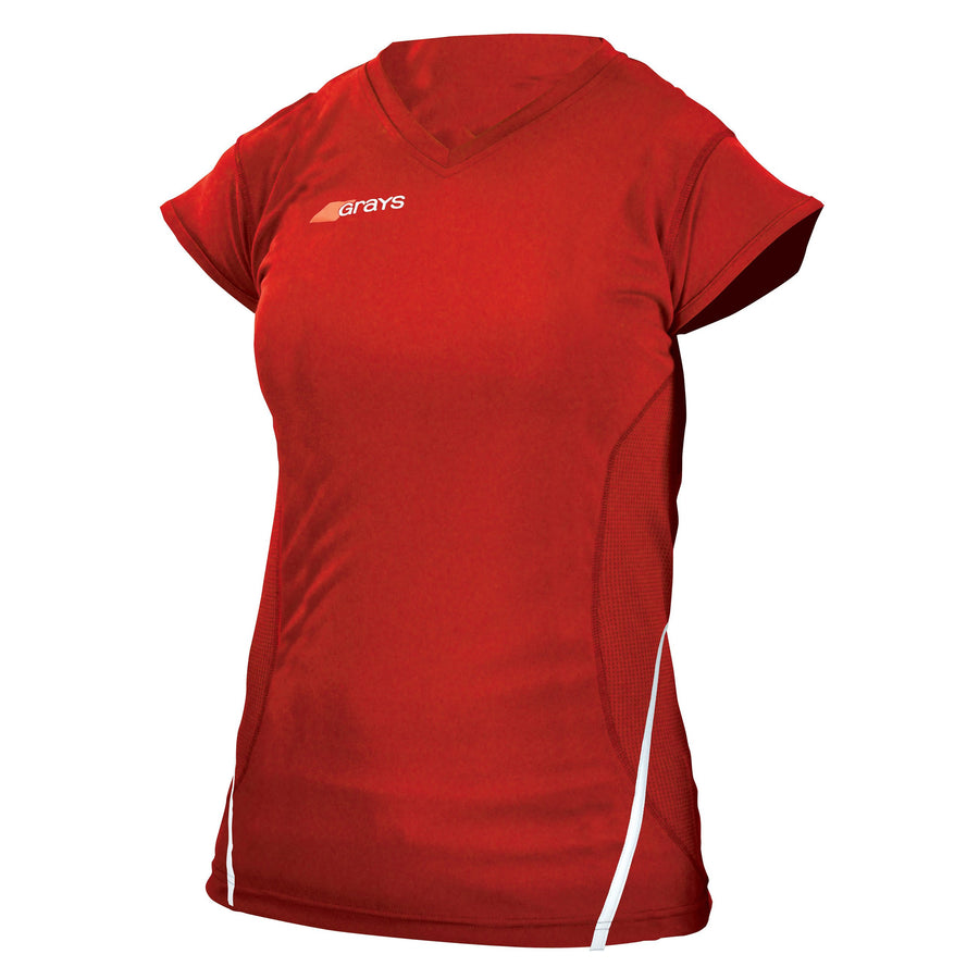 2600 HCED13Ladies G650 Shirt red