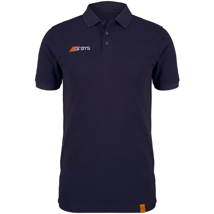 2600 6113005 Polo Tangent Dark Navy Front