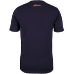 2600 6113605 Tee Tangent Dark Navy, Back