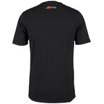 2600 6113705 Tee Tangent Black, Back