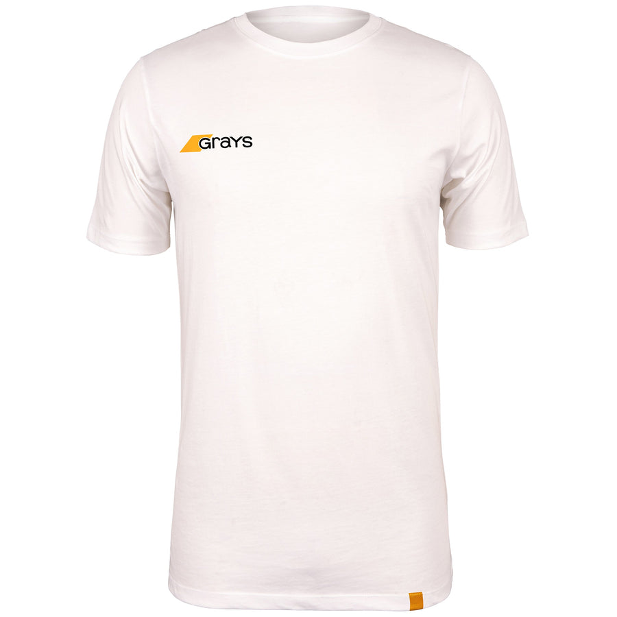 2600 6113805 Tee Tangent White Front