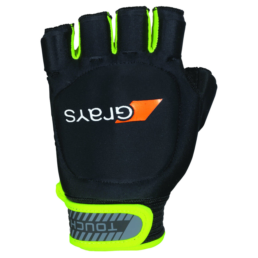 2600 6203103 GLOVE Touch BLK YEL LH XS BACK