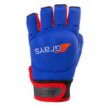 2600 6205705 GLV TOUCH NAVY_FLUO RED BACK