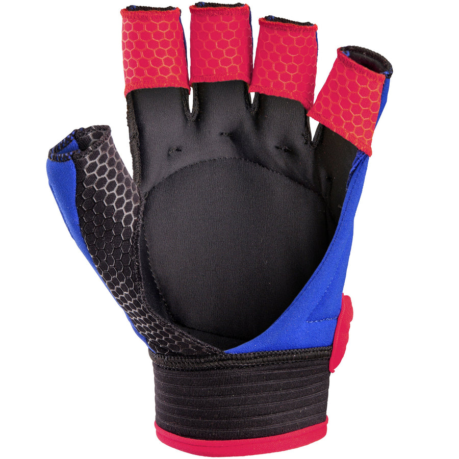 2600 6205705 GLV TOUCH NAVY_FLUO RED FRONT