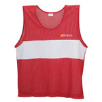 2600 636205 Bib Training Bib Red