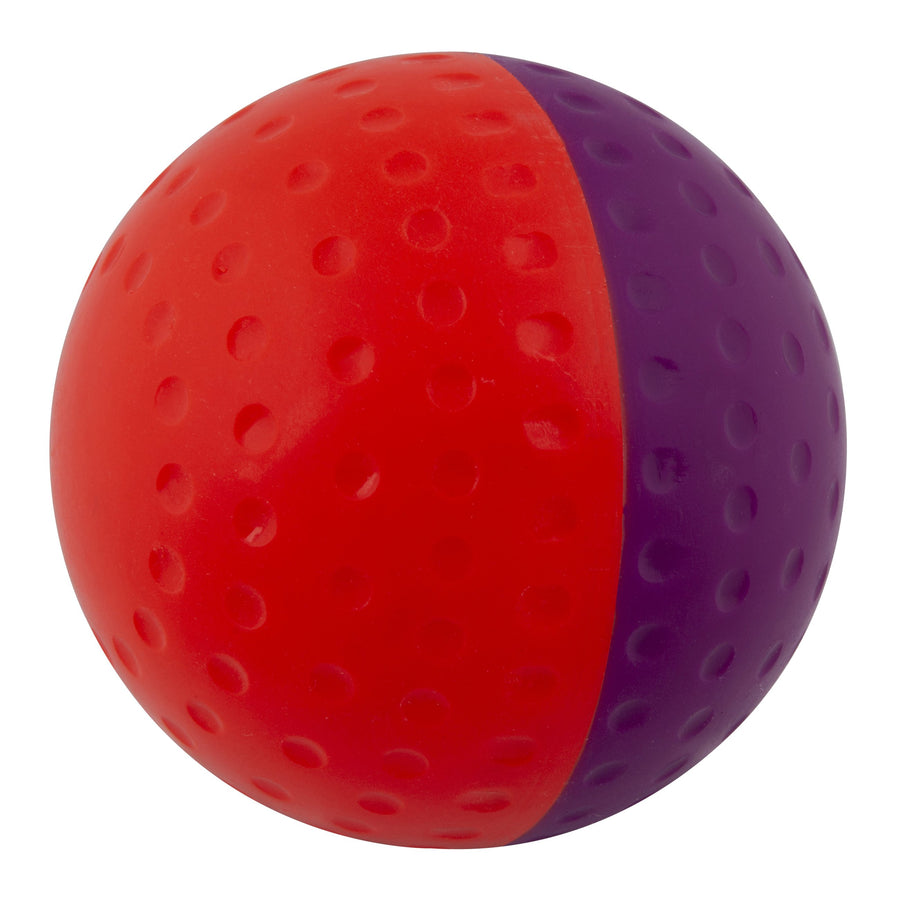 645803 Red Purple fifty fity ball