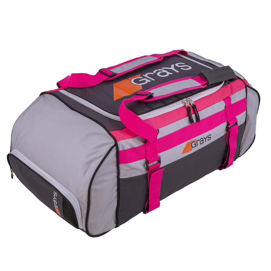 2600 6603401 HOLDALL GR800 GREY_SIL_PINK FRONT