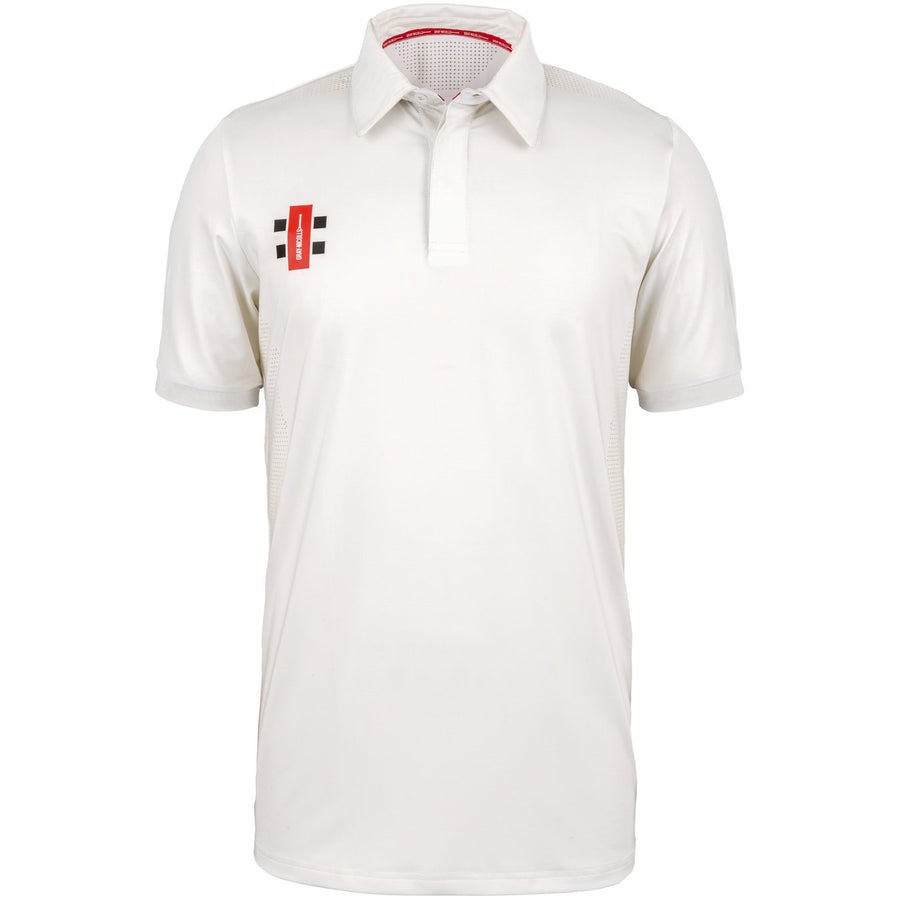 CCAB18Shirt Pro Performance Ivory S_s, Front
