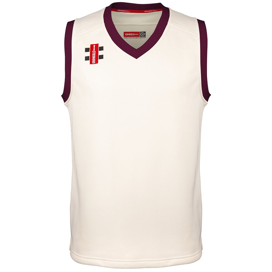 CCCF19Slipover Pro Performance Maroon Trim M Front