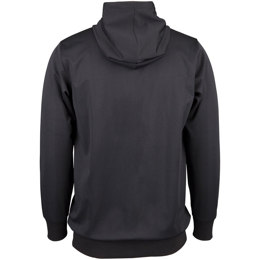 CCDA18Top Hooded Pro Performance Black, Back