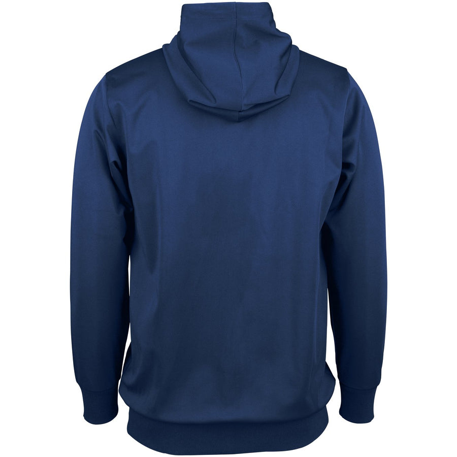 CCDA18Top Hooded Pro Performance Navy, Back