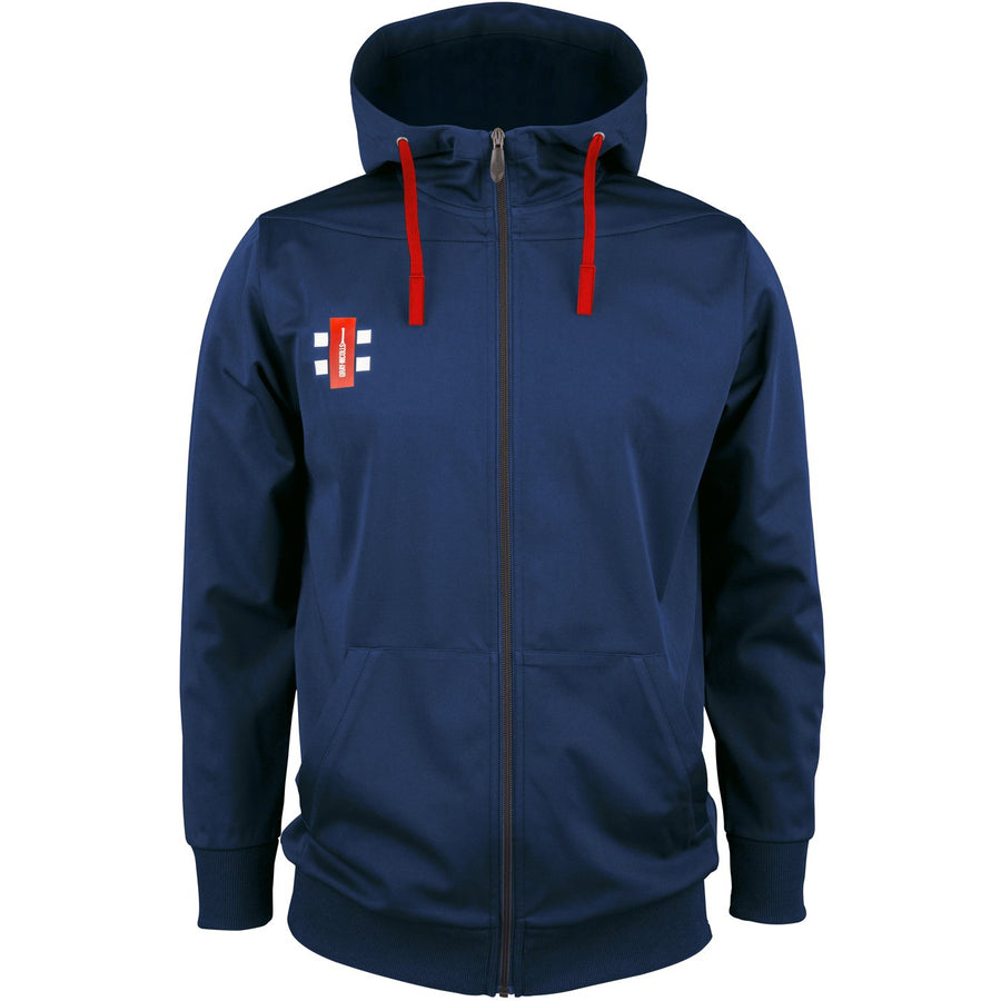 CCDA18Top Hooded Pro Performance Navy, Front