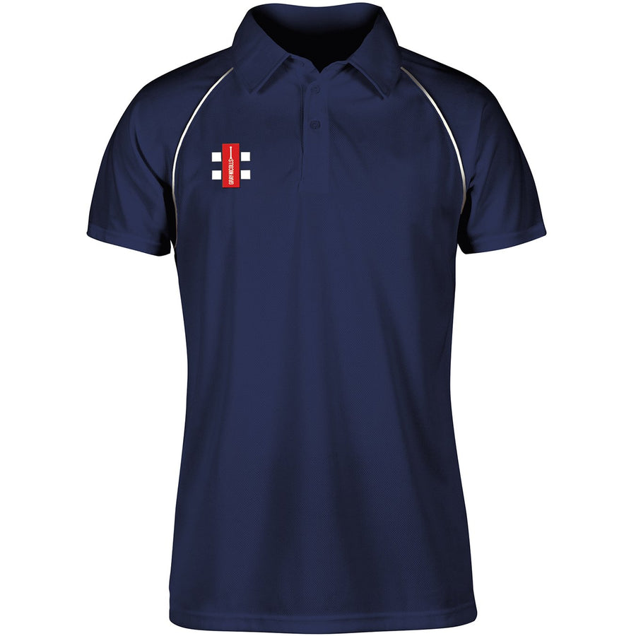 CCFC14Polo Matrix Nav_wht Front