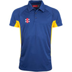 CCFC14Polo Matrix Pro Navy_gold Front