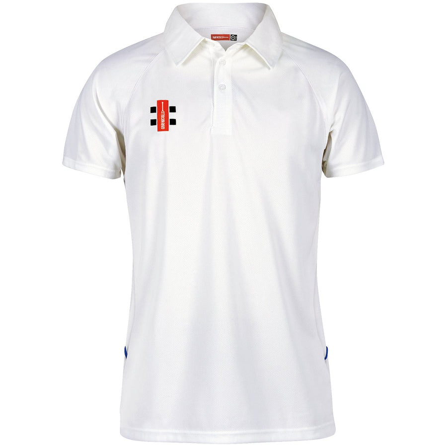 CCFC14Polo Matrix Wht_nav Front